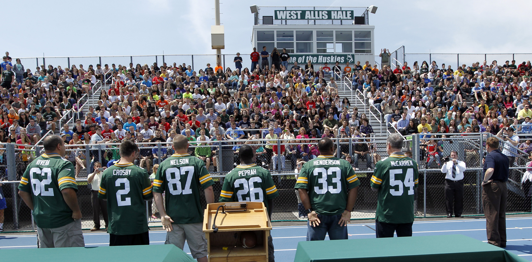 Packers Tailgate Tour Schedule