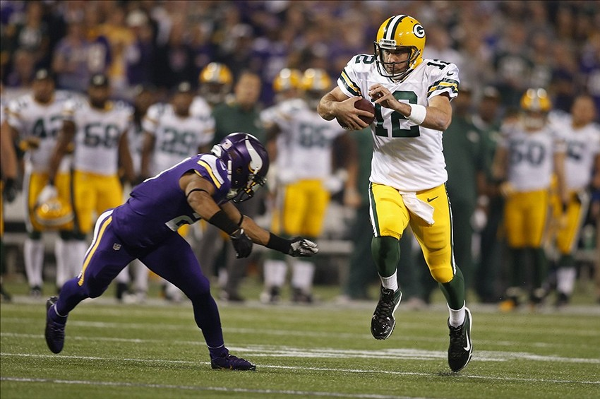 green bay packers  aaron rodgers is flawless