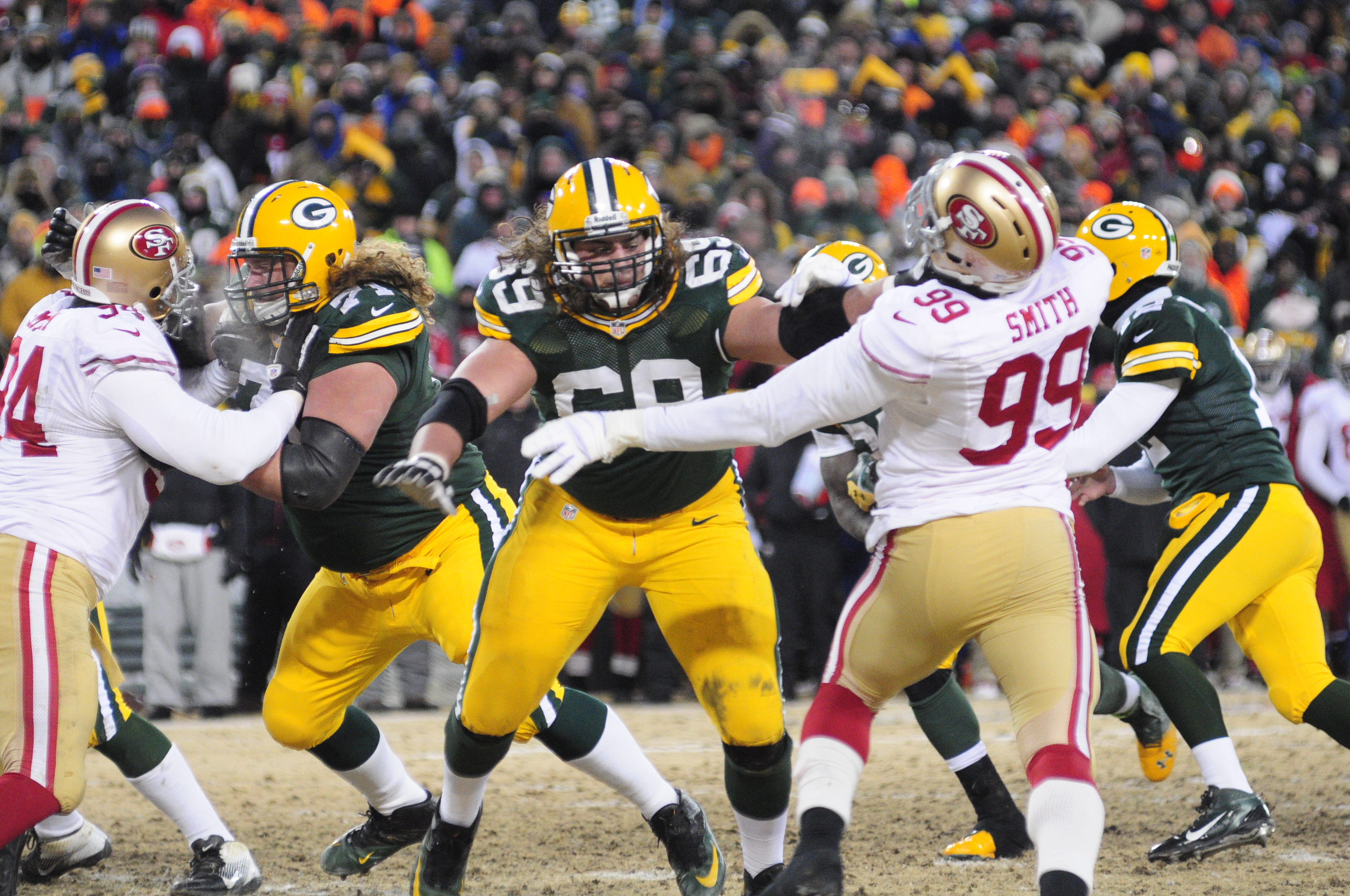 Daviid Bakhtiari continues to protect the blind side
