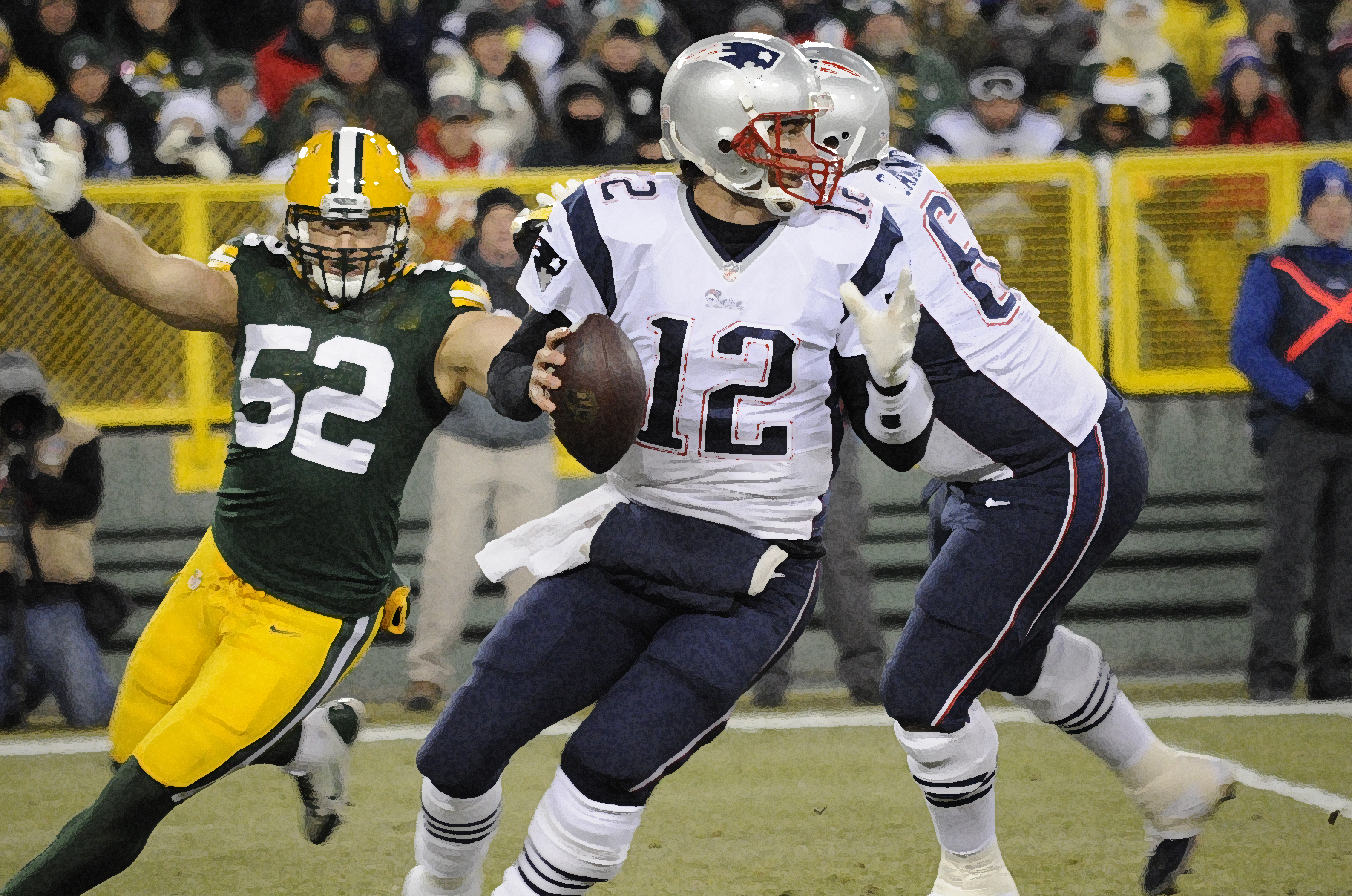Clay Matthews brings a new artistry to the Green Bay Packers