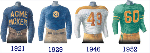 016474e1e0e Green was not the team s original color. Curly Lambeau s team wore a blue  and gold reminiscent of his team colors when he played at Notre Dame.