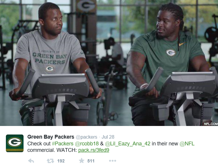 Green Bay Packers Training Camp Day 3 Twitter Chatter