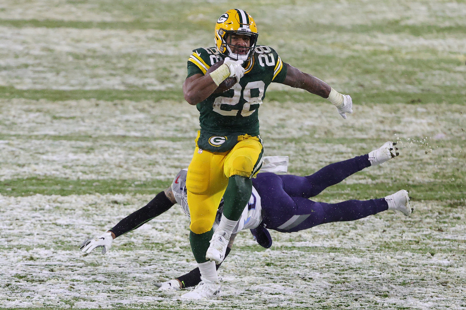 Packers: Is AJ Dillon ready to be full-time running back?