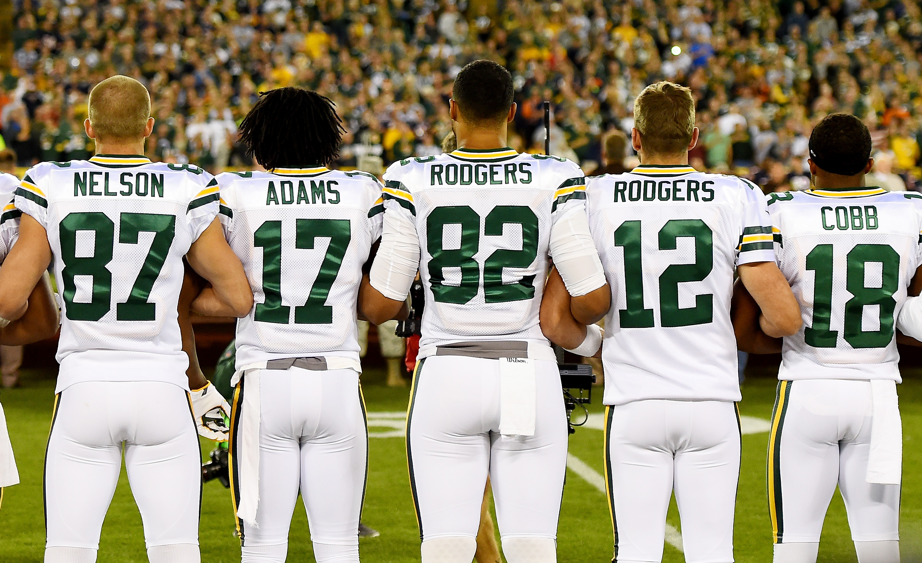 Packers Set The Example In Response To National Anthem Issue