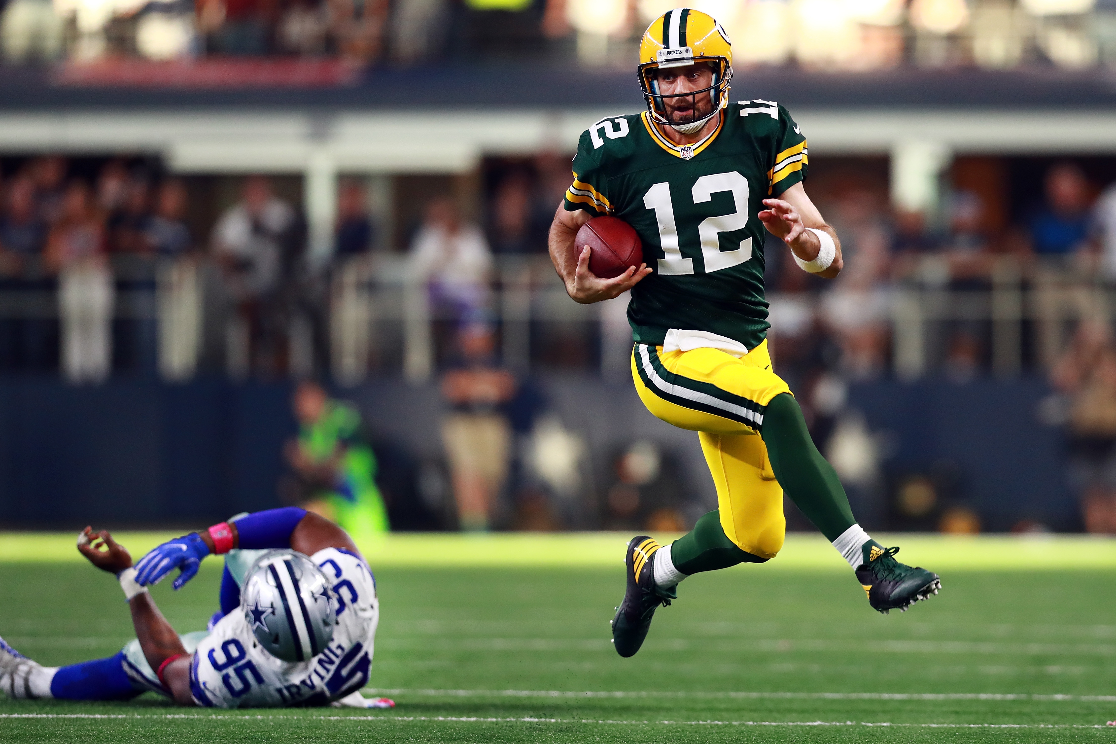 Aaron Rodgers: No surprise he's Offensive Player of the Week