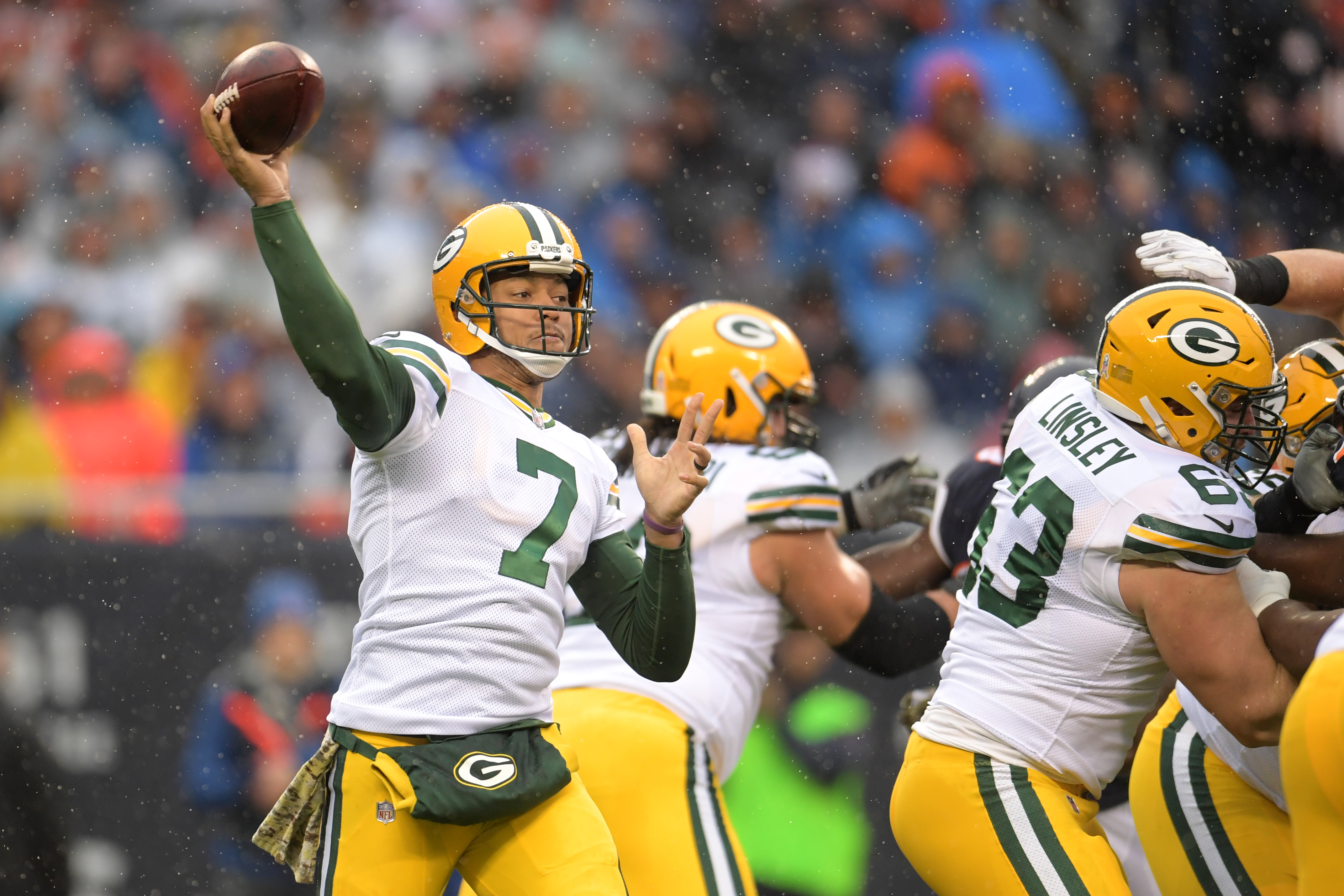 Packers QB Brett Hundley suffers hamstring injury vs. Bears