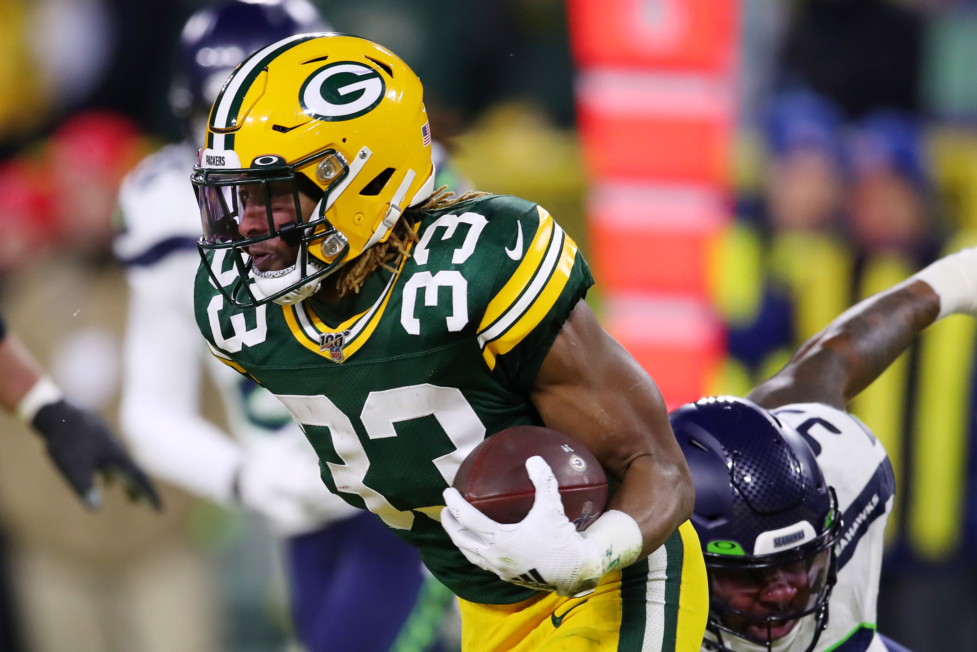 Packers Aaron Jones Is Still Nfl S Most Underrated Running Back