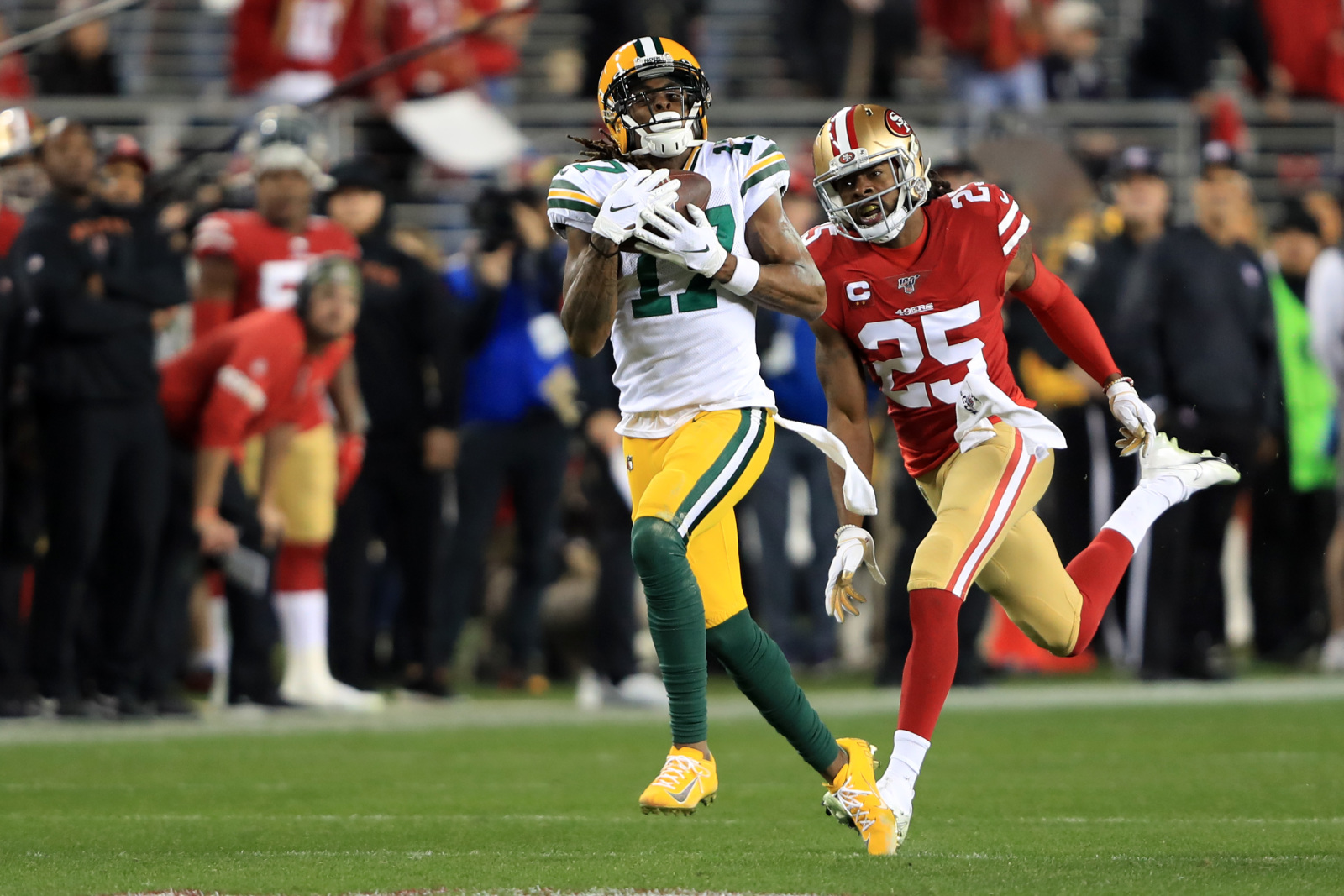 Espn Low On Packers Offensive Weapons Entering 2020 Season