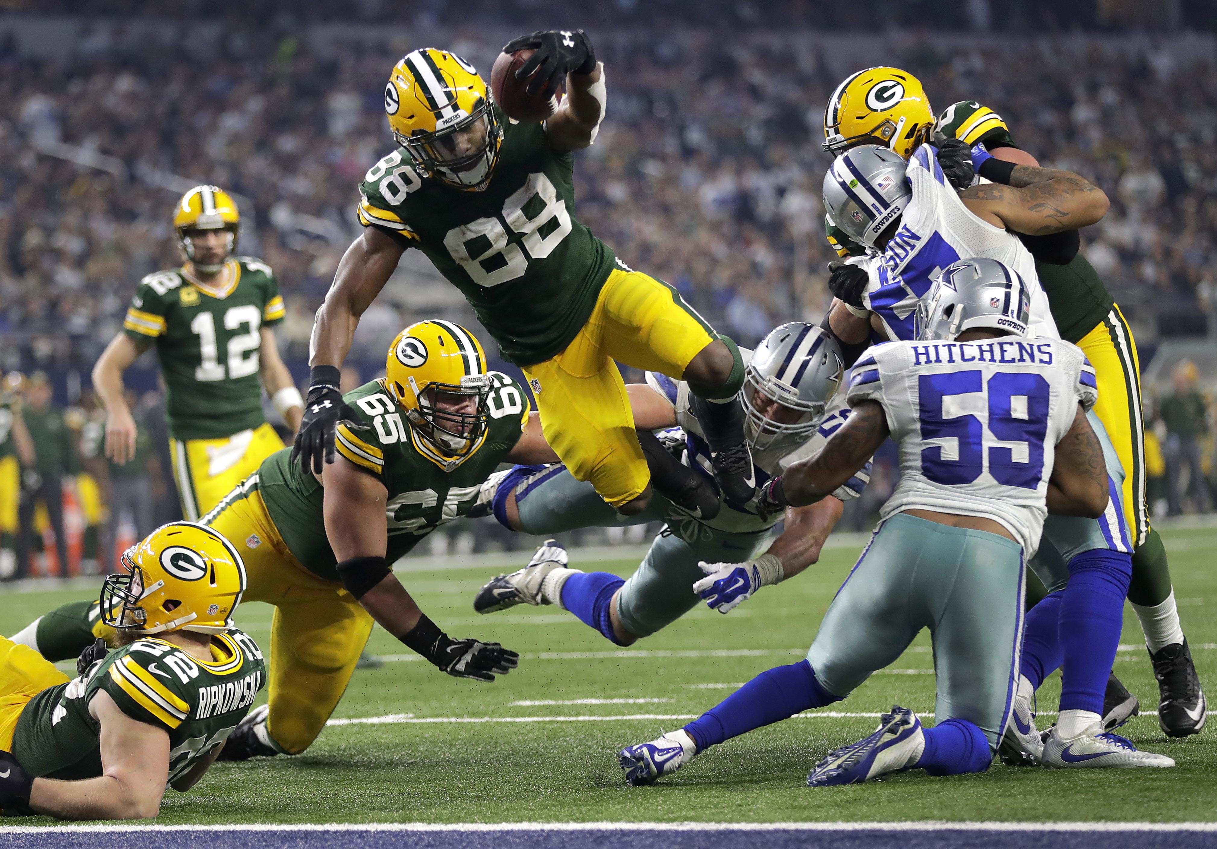 green bay packers rb